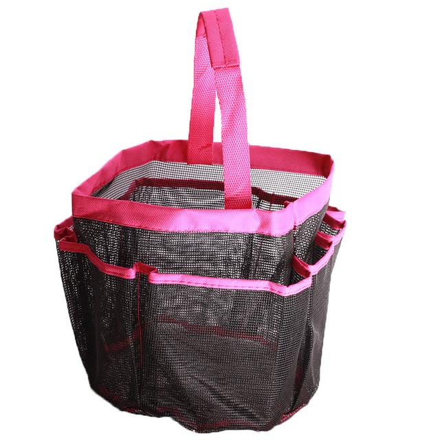moderne 8 poche avec poignée sacs de bain de douche organisateur pour