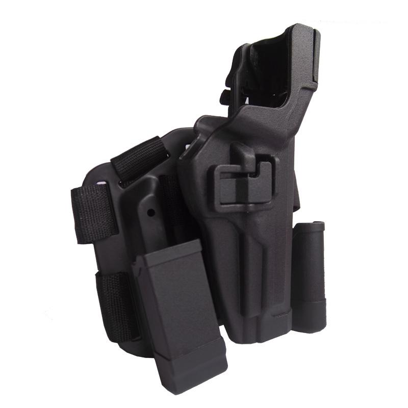Blackhawk LV3 Tac SERPA Holster Beretta 92/96/M9/A1 Black Right Hand - Military store