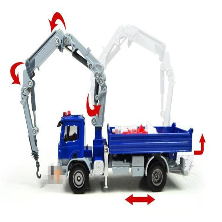 2015 NEW Diecast Toy Alloy Car Model For Kids Truck Model Cranes Crane Truck Classic TOYS 1 : 50 Construction vehicles(China (Mainland))