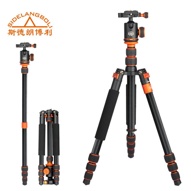 SL-288 Professional Portable Aluminum Tripod Monopod For DSLR Camera With Ball Head Tripod Bag Fold Free Ship To DHL(China (Mainland))