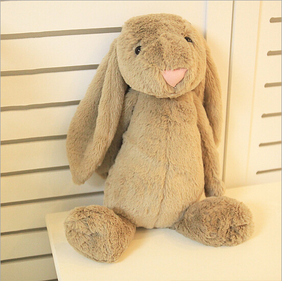 Cute Baby Kids Animal Rabbit Sleeping Comfort Doll Plush Toy Bunny Rabbit Plush(China (Mainland))