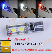 1  x  T10 W5W Clearance Parking Front Side Light  LED For  Hyundai Elantra Veloster Tucson Genesis (China (Mainland))