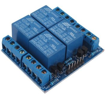 New Style 5V 4-Channel Relay Module Switch Board for Arduino PIC ARM AVR DSP PLC