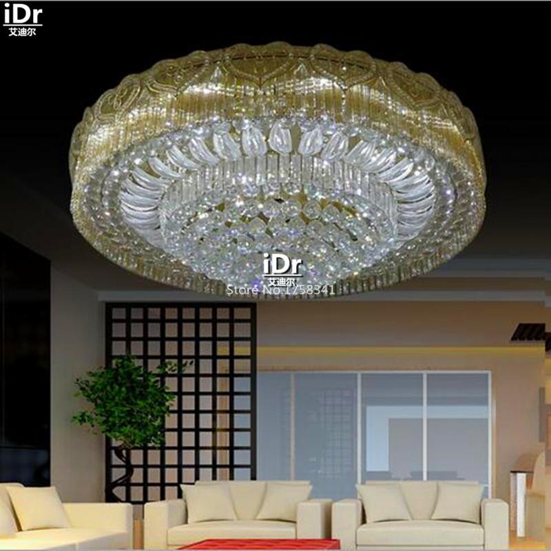 cristallo soggiorno casa Di Lusso della decorazione Luci del Soffitto ...