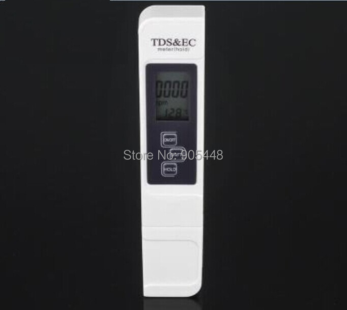 TDS EC Meter Temperature Tester 3 In1 Function Conductivity Water Measurement Tool TDS&EC Tester 0-5000ppm Best Offer(China (Mainland))