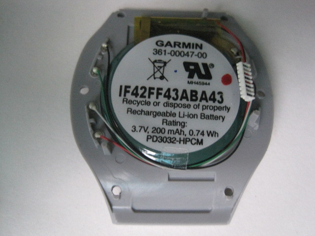 Garmin361-00047-00 GPS Forerunner 110 CompatibleS1 S1W 110W 210 210w used Battery Replacement LIR3032 PD3032 spare Watch Black(China (Mainland))