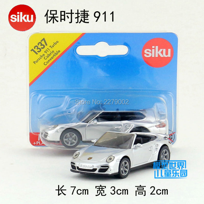 SIKU/Die Cast Metal Models/The simulation toys:911 Turbo Cabrio Convertible/for children's gifts for collection/(China (Mainland))
