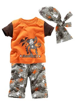 2014 Hot-selling New T-shirts+pants+scarf  Boys clothes/Kids sets/kids clothing for summer and beach,Freeshipping, TST001