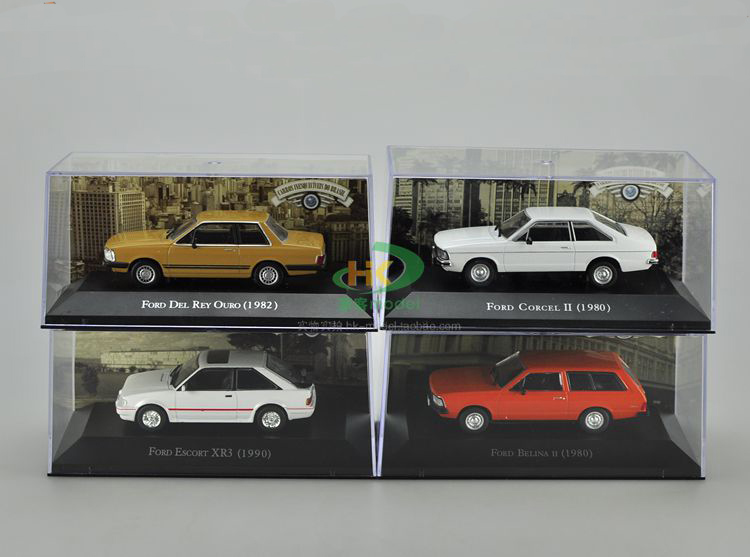 IXO 1:43 Ford CORCEL XR3 DEL Metal car models Diecast vehicle Toys Collect Or Gift toys(China (Mainland))