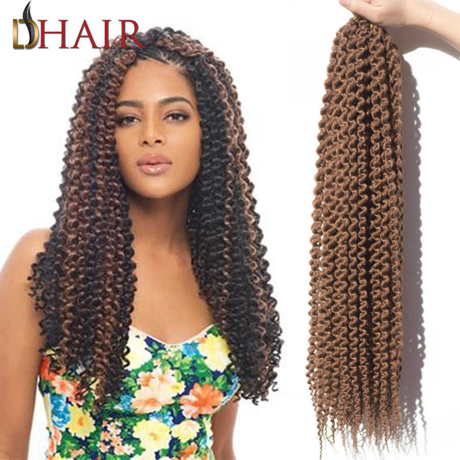2017 New Top Crochet Curly Hair Expression Hair Weave 22 85G Crochet ...
