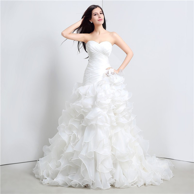 under 100 court train bridal gowns dress in wedding dresses from