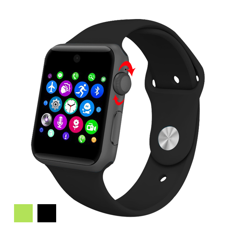 Lemfo Bluetooth Smart Watch 2.5D ARC HD SIM Card Support Magic Knob For IOS Android