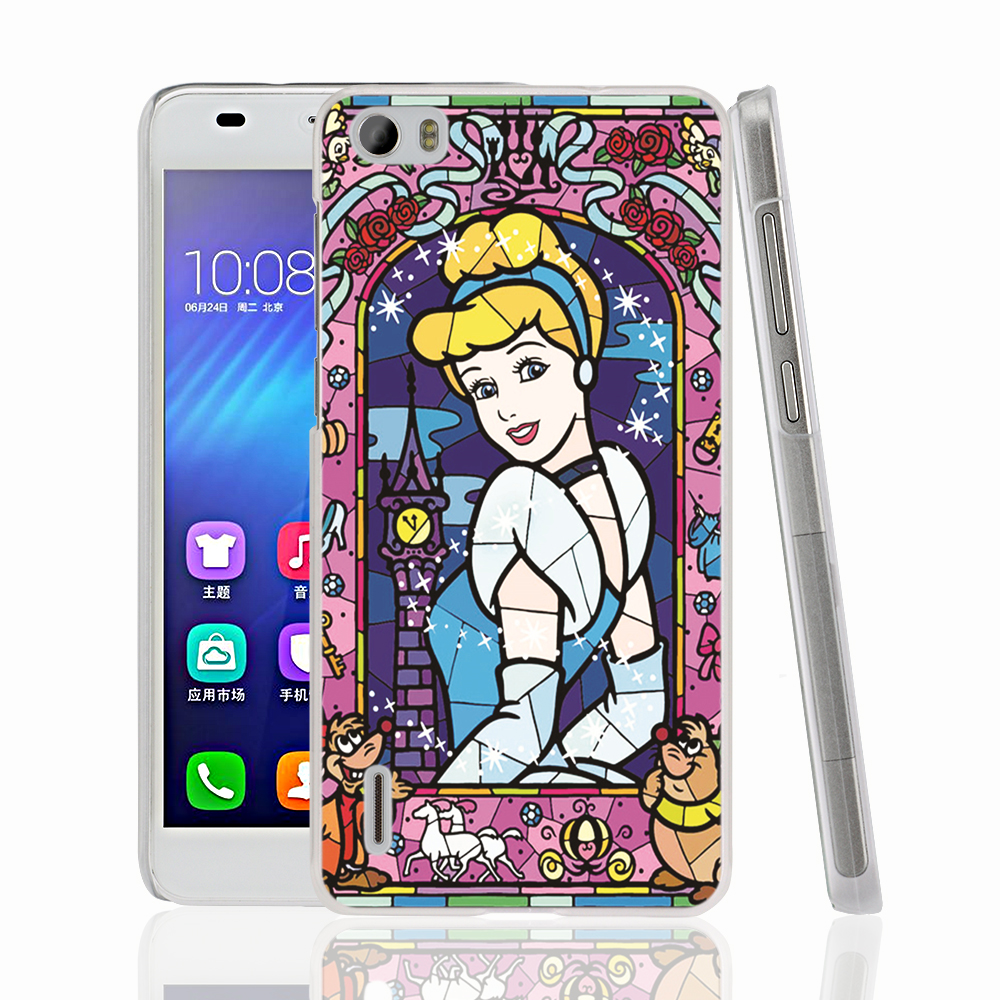 07513 Ariel stained glass girls Cover phone Case for sony xperia z2 z3 z4 z5 mini plus aqua M4 M5 E4 E5 C4 C5(China (Mainland))