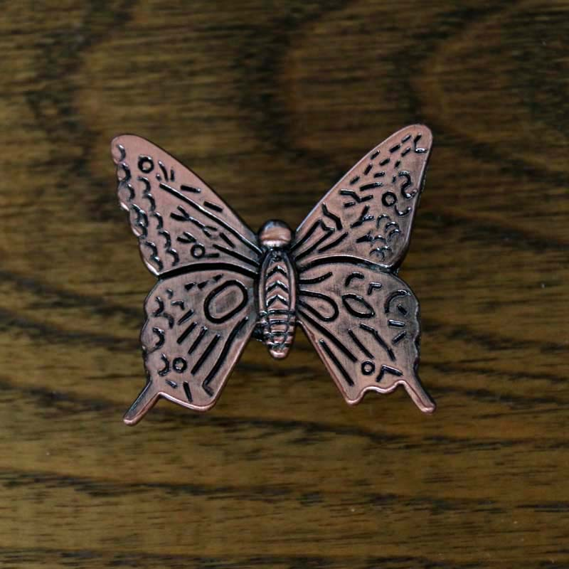 Antique Bronze Door Knob Cabinet Cupboard Pull furniture Drawer Handle Kitchen Wardrobe Butterfly shape knobs pull Home Hardware(China (Mainland))