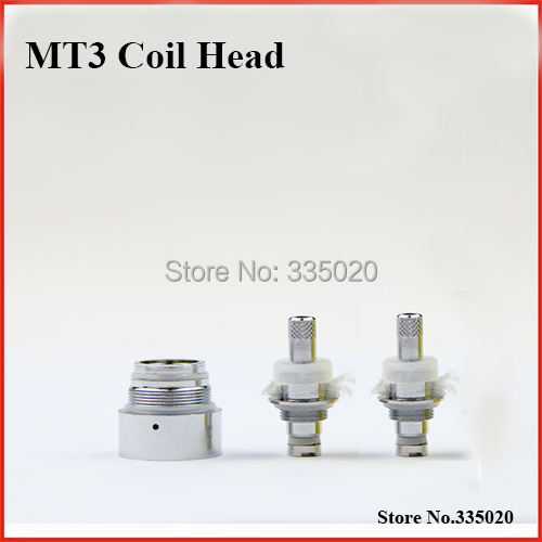 MT3 EVOD Replacement 2 4ohm Bottom Heating Coil Head Electronic Cigarette Detachable MT3 Clearomizer Coil Head