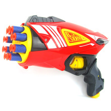 2016 New Children's Nerf Toys Gun Continuous Firing Pistol Interesting Soft Bullet Guns Nerf  Star Wars Gun Toy