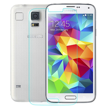 0.3mm Front Screen Tempered Glass Protector for Samsung Galaxy S5 9H Hard 2.5D Arc Edge Round Border with Clean Tools(China (Mainland))