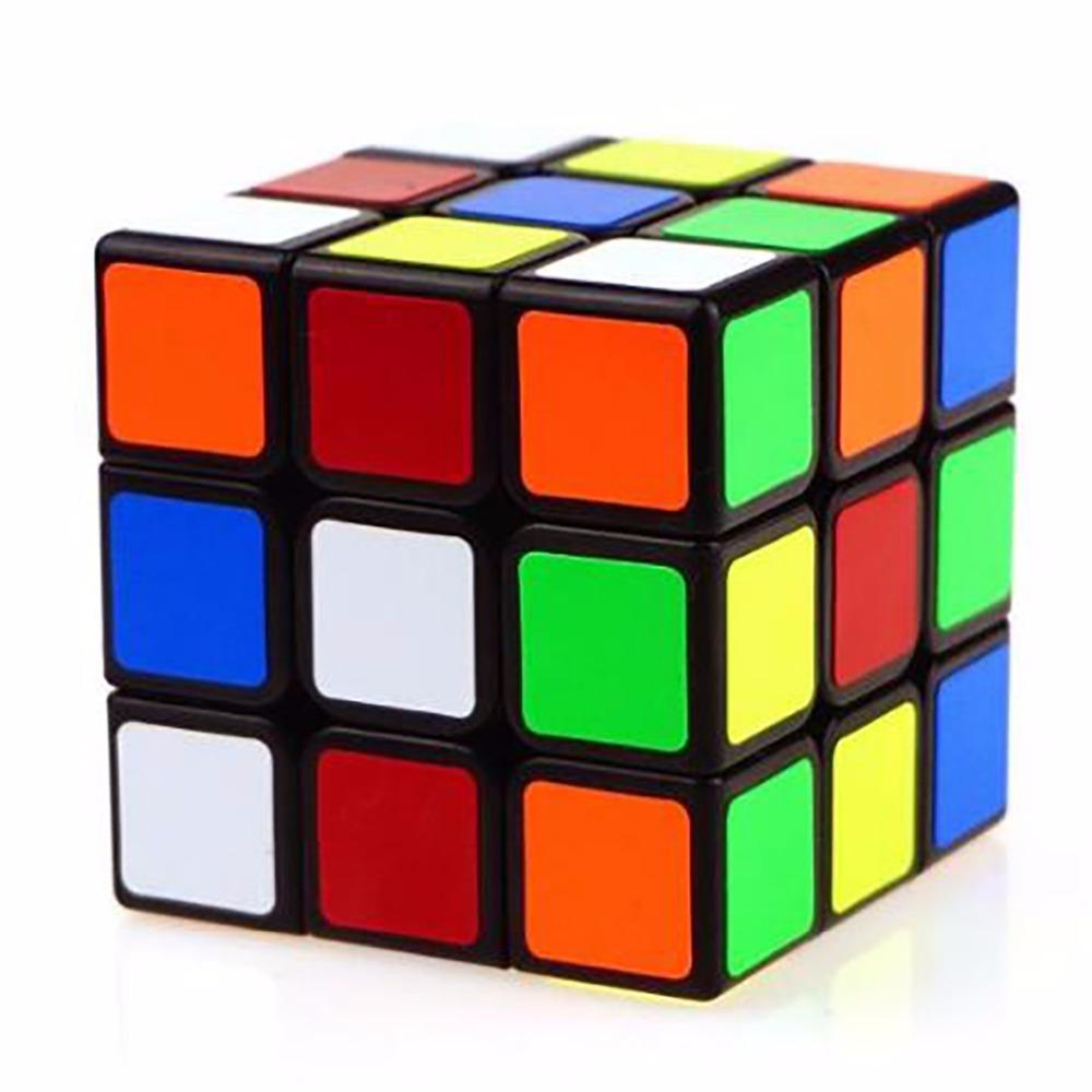 Classic Toys Rubik's Cube 3x3x3 Sticker Block Puzzle Magic Speed Rubik Cube Learning&Educational Puzzle Cube Magico Toys XJH074(China (Mainland))