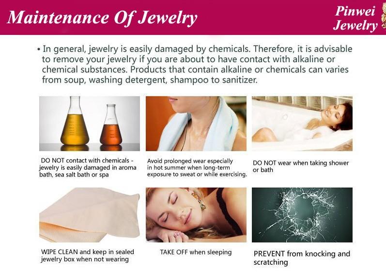 maintance of jewelry
