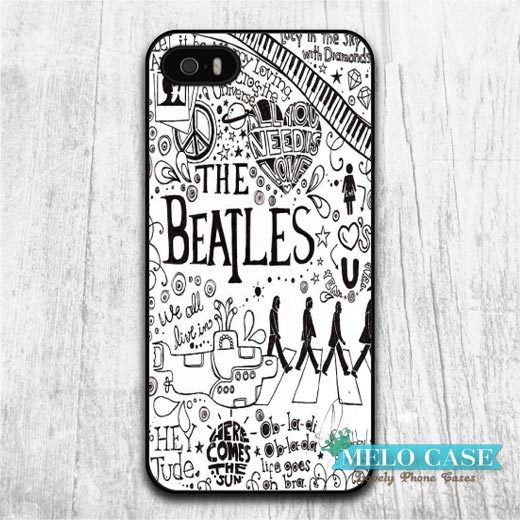 Beatles Lovely Case iPhone 6 Plus 5 5s Also 4 4s 5C iPod Classic Protective Phone Cover Drop Ship - Melocase store