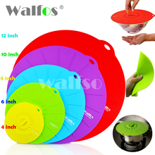 Universal Silicone aspiration couvercle - bol pan marmite couvercle - silicon stretch couverture couvercles Silicone cuisine pan couvercle de déversement stopper couverture(China (Mainland))
