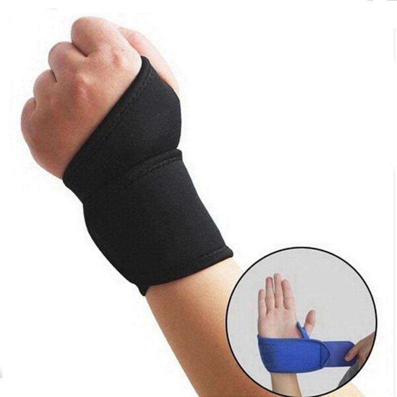 1 pcs sports wristband sprain ventilative protection armguard palm wristbands crossfit wrist support Strap Elastic Bandage Guard(China (Mainland))
