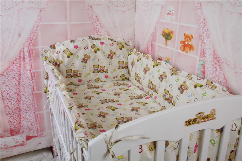 Baby Linen Bed,Cot Bumper Sheet Bedding Set for Baby Crib,Bedding for the Crib,fundas nordicas infantiles cama,Free Shipping<br><br>Aliexpress