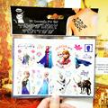 Ice Princess Family Child Temporary Tattoo Body Art Flash Tattoo Stickers 17 10cm Waterproof Henna Tato