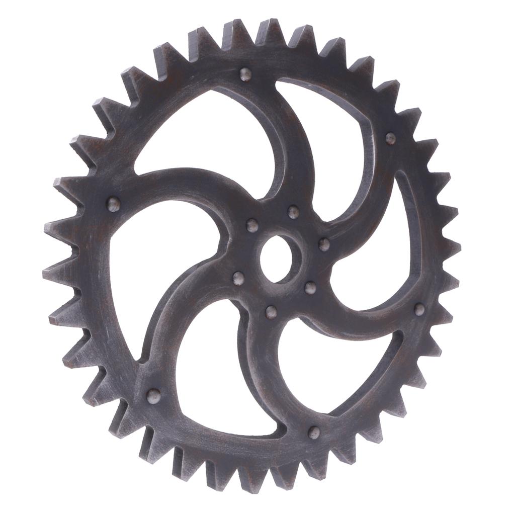 29 см Дерево стимпанковый механизм колеса для дома Бар магазины украшение на 29cm Wood Steampunk Gear Wheel for Home Bar Shops Wall Art Hanging Decors #B