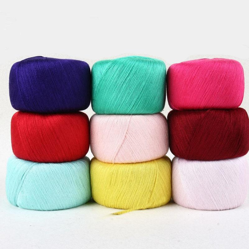 Hot sale 5 balls/lot 500g Pure cotton yarn for knitting type yarn crochet yarn baby clothes sweater yarn lanas para tejer,S3162(China (Mainland))