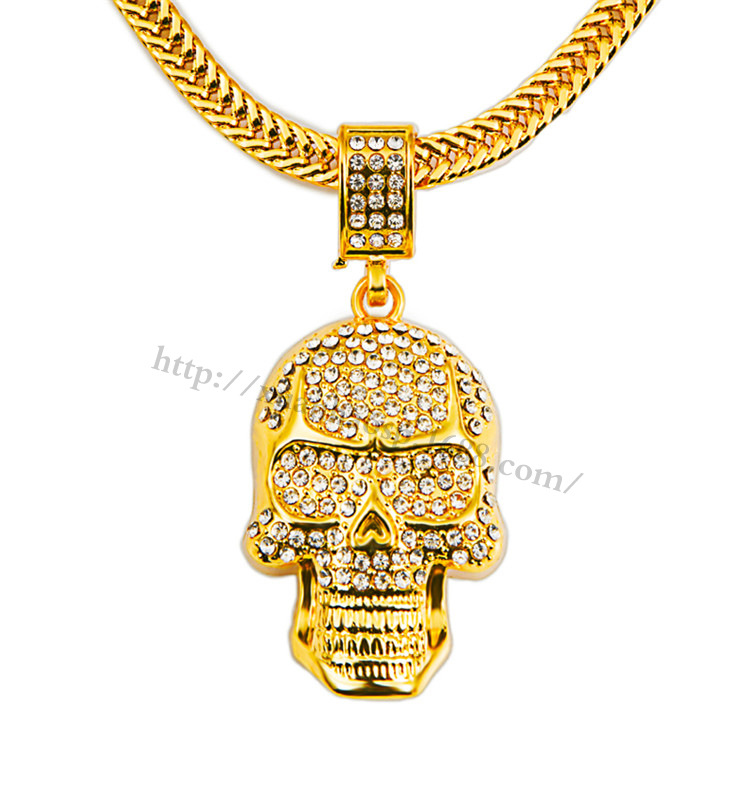 Gold necklace bling
