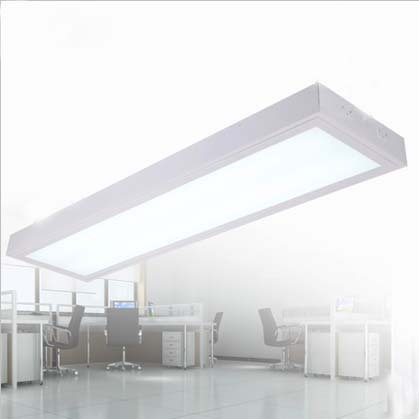 Modern 1.2m Office Led Ceiling Lamps 2xT8 Tubes Office Ceiling Mounted Lamp Meeting Room Ceiling Lighting Fixtures Free Shipping(China (Mainland))