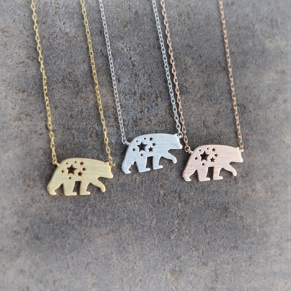 Wholesale 10Pcs/lot  Women/Men Jewelry Stainless Steel Polar Bear Pendant Necklace18K Gold/Silver Plated Birthday/Festival Gift<br><br>Aliexpress