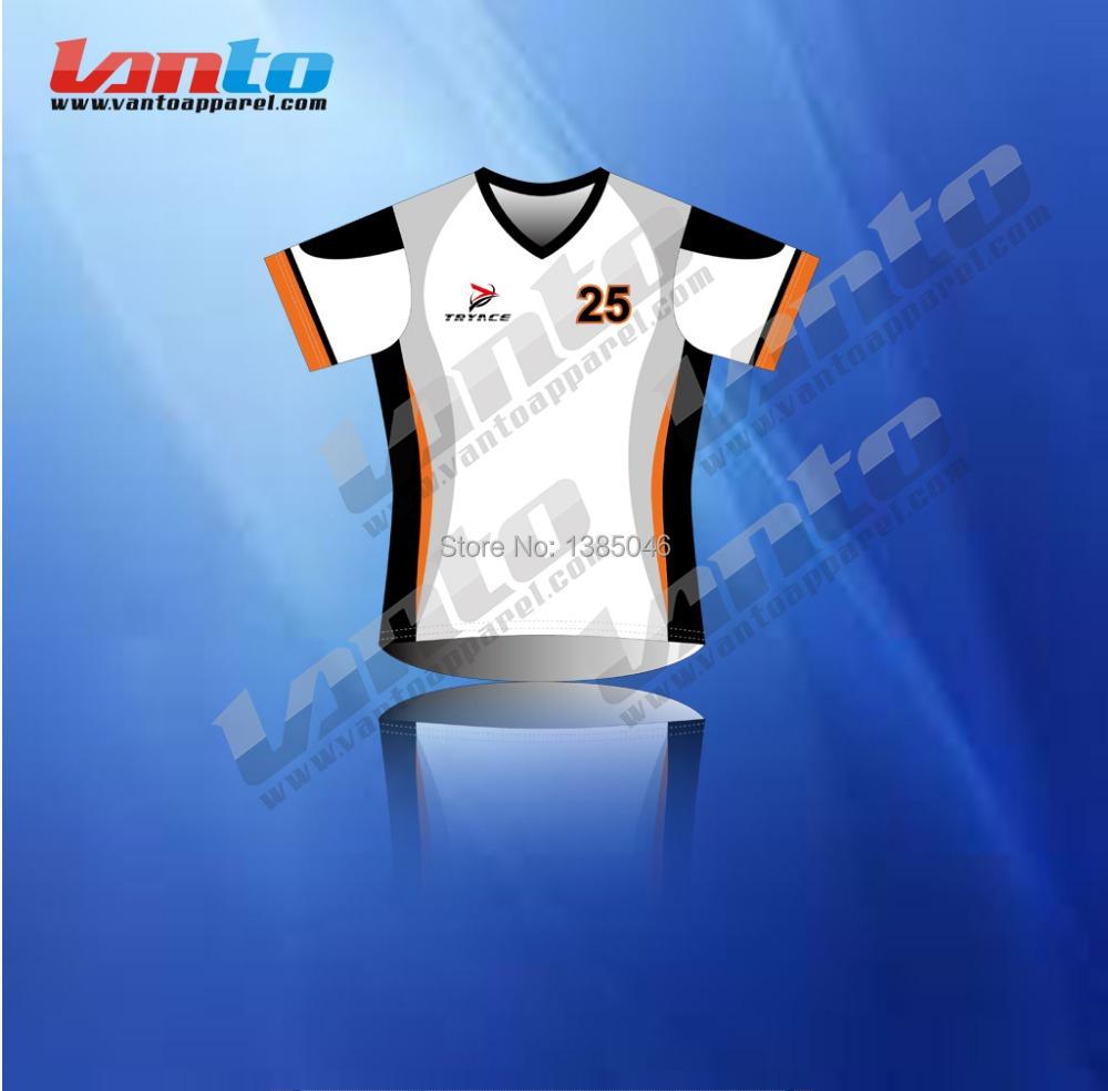 High performance custom design coolmax sublimation soccer for Online custom shirt maker