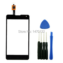 Outer Front Touch Screen Digitizer  Glass Panel Replacement for LG Optimus G E975 F180 LS970 E971 E973 E976 E977 with Tools