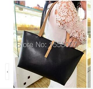 2014 women's handbag formal fashion buckle big bag all-match portable one shoulder - TVS store