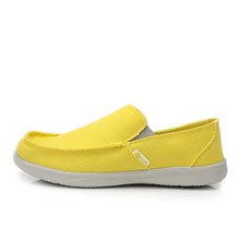 2016 Fashion Summer Men Canvas Shoes Breathable Casual Shoes Men Shoes Loafers Comfortable Ultralight Lazy Shoes Flats(China (Mainland))