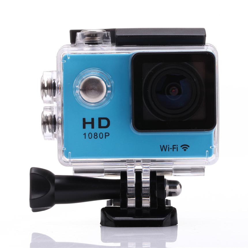 Mini Sports Action Camera W8 Wifi Camcorder 1080P Full-HD 170 Lens 1.5 Inch LCD Waterproof Helmet Cam 30m Diving Sport DV