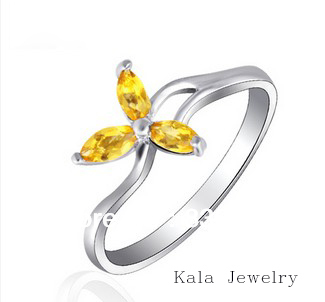 get cheap citrine birthstone ring aliexpress
