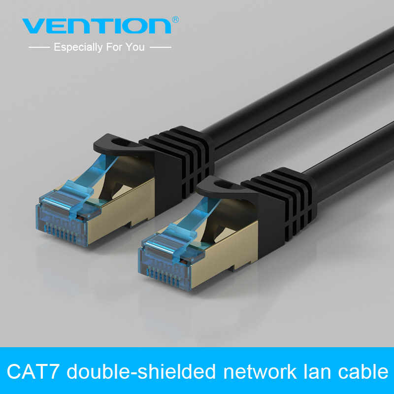Vention CAT 7 Ethernet LAN Networking Cable 1M 1.5M 2M 3M 5M For Router Switch ADSL MODEM(China (Mainland))