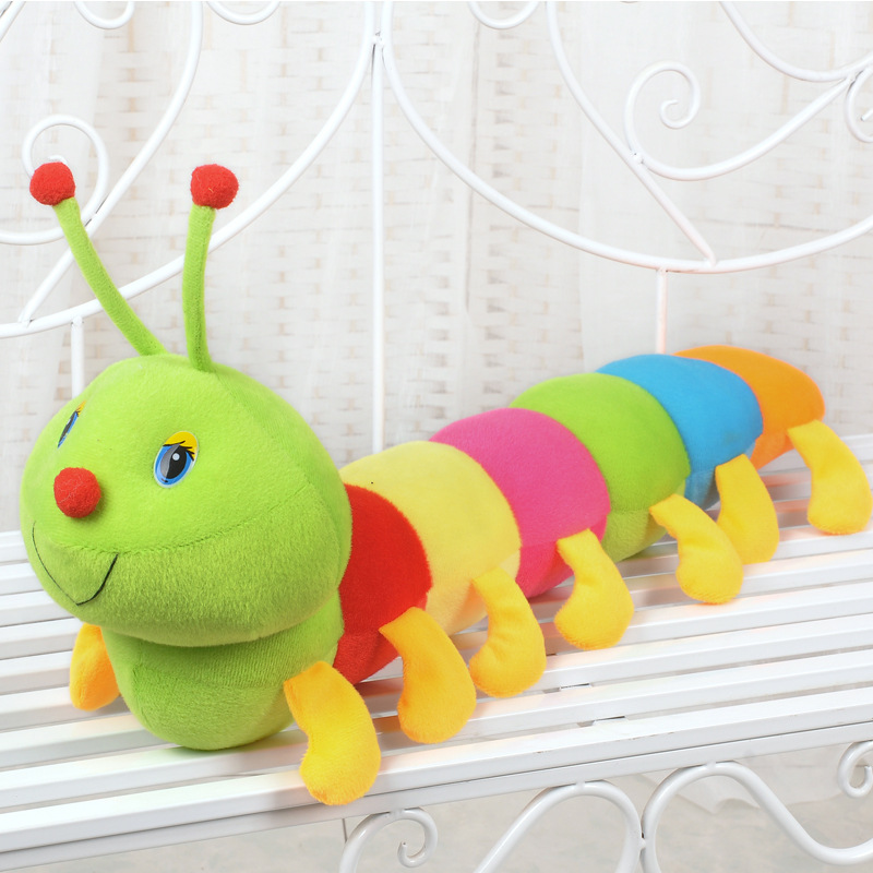New Lovely Inchworm Soft Lovely Caterpillars Bug Doll Baby&Kid Plush Toys UJB, cute toy, kids toy, good gift for kids(China (Mainland))