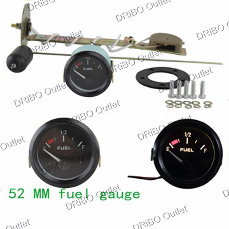 2 inch 52mm Fuel auto Gauge Universal Black Sports Air Fuel Ratio Fuel Car Meter Racing/tachometer<br><br>Aliexpress