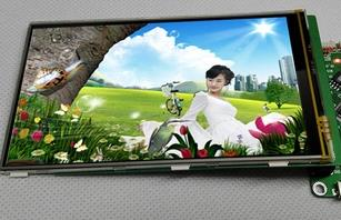 4.6 inch HD TFT LCD Touch Screen with Adapter Board ILI9481 Drive IC 480*272 (3.3V Backlight Parallel)(China (Mainland))