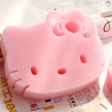 Buy 5 pcs/lot Hello Kitty Magic Sponge Eraser Melamine Cleaner Kitchen Bathroom Cleaning Tools Sponge 6D for $3.34 in AliExpress store