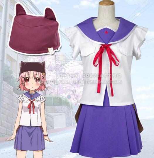 Anime school-live! School love Takeya Yuki japanese Uniform lolita punk girls dress Cosplay CostumeОдежда и ак�е��уары<br><br><br>Aliexpress
