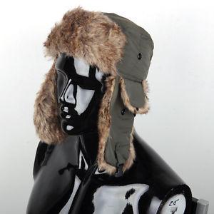 Men Women Winter Russian Trapper Bomber Aviator Trooper Earflap Snow Ski Hat Cap(China (Mainland))