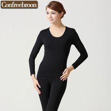 Buy High Capability Elastic Women's Thermal Underwear Sets Soft Bodysuit Modal female Thin Long Johns Warm Clothing Winter 71 for $21.99 in AliExpress store