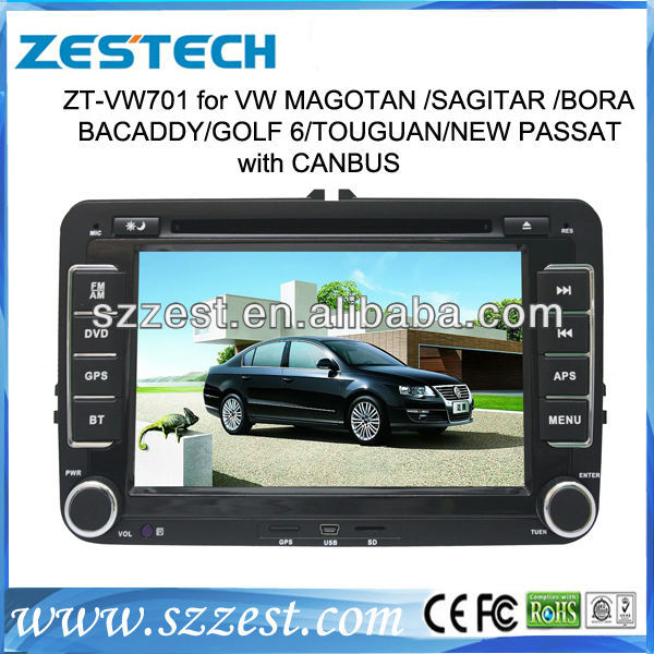 ZESTECH car audio dvd player for vw car dvd gps with radio tv and gps navigation special for vw car dvd player(China (Mainland))