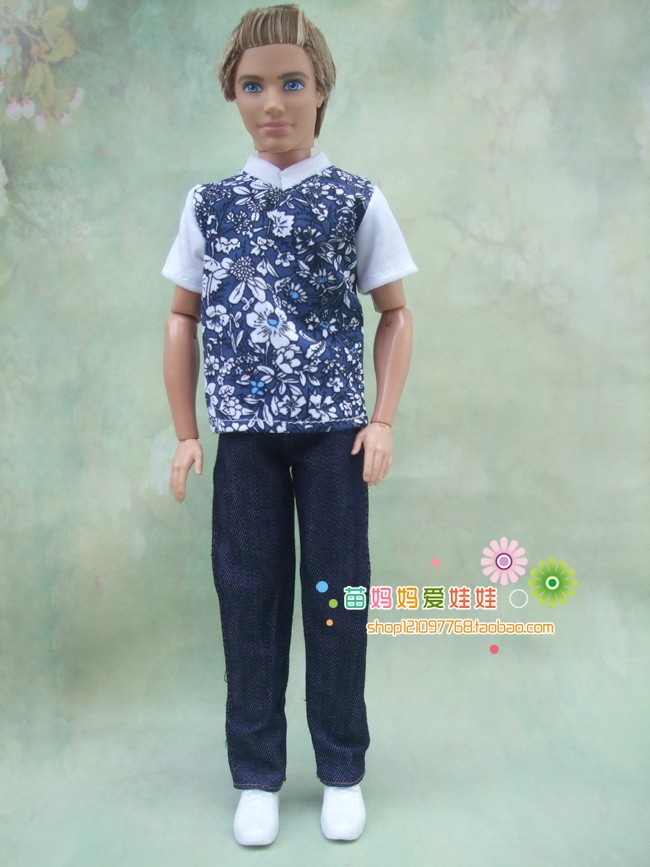 new arrival shirt and pants garments swimsuit set for barbie doll boy good friend ken doll garments