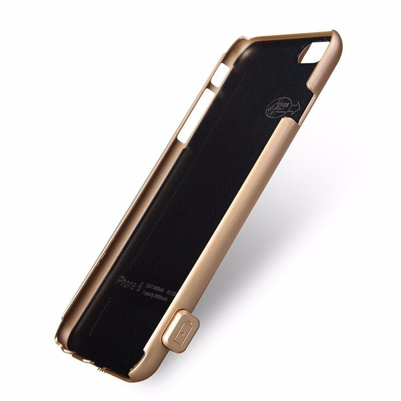 New Ultra Thin Charger Battery Case For iPhone 7 7 Plus Battery Power Case Luxury Charging Power Pack Phone Cover Phone Protecti